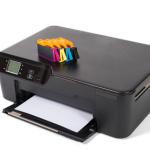 Printerpatroner på printer